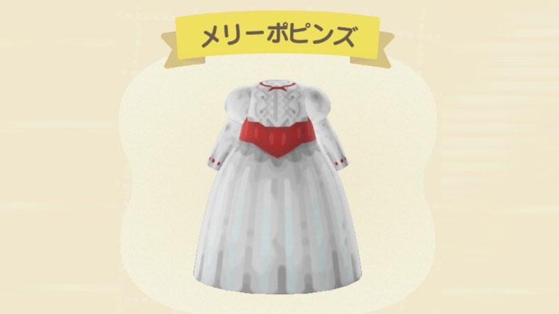 【あつ森マイデザイン】かわいいドレス(服)のIDやQRコードまとめ一覧